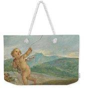 Angel Flying A Kite Weekender Tote Bag