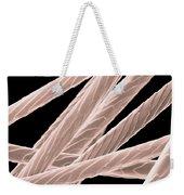 Angora Rabbit Hairs, Sem Weekender Tote Bag