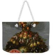 Anthropomorphic Allegory Of Summer Weekender Tote Bag