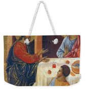 Appearance Of Christ To The Apostles Fragment 1311  Weekender Tote Bag