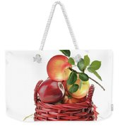 Apples In A Basket  Weekender Tote Bag