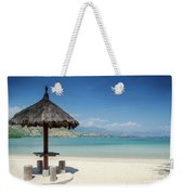 Areia Branca Tropical Beach View Near Dili In East Timor Weekender Tote Bag