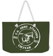 Army Aviation Vietnam Weekender Tote Bag