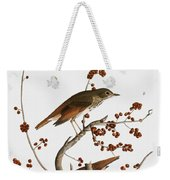 Audubon: Thrush Weekender Tote Bag