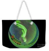 Aurora Borealis Over Churchill Weekender Tote Bag