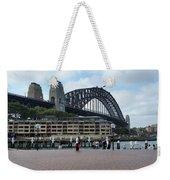 Australia - Sydney Harbour Bridge On Circular Quay Weekender Tote Bag