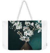 Australian Almond Blossom Weekender Tote Bag