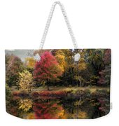 Autumn's Mirror Weekender Tote Bag