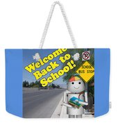 Back To School Little Robox9 Weekender Tote Bag