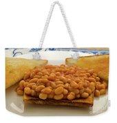 Baked Beans On Toast Weekender Tote Bag