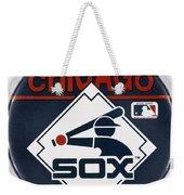 Baseball Button Weekender Tote Bag