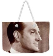 Basil Rathbone, Actor Weekender Tote Bag