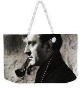 Basil Rathbone As Sherlock Holmes Weekender Tote Bag
