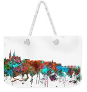Basle Switzerland Skyline Weekender Tote Bag