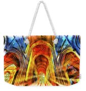 Bath Abbey Sun Rays Art Weekender Tote Bag