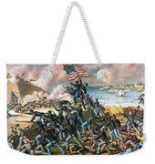 Battle Of Fort Wagner, 1863 Weekender Tote Bag