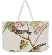 Bay Breasted Warbler Weekender Tote Bag