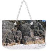 Bay Of Fires. Tasmania Weekender Tote Bag
