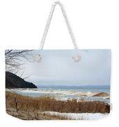 Beach And Ice Weekender Tote Bag