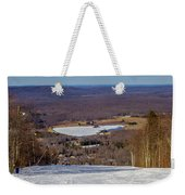 Beautiful Winter Landscape At Timberline West Virginia Weekender Tote Bag
