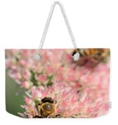 2 Bees Weekender Tote Bag