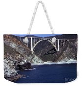 Bixby Creek Aka Rainbow Bridge Bridge Big Sur Photo  Weekender Tote Bag
