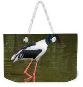 Black-necked Stork Weekender Tote Bag