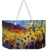 Blue Cornflowers Weekender Tote Bag