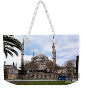 Blue Mosque-- Sultan Ahmed Mosque Weekender Tote Bag