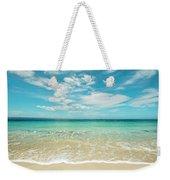 Pristine Blue Paradise Weekender Tote Bag