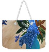 Blue Passion Weekender Tote Bag