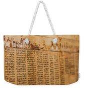 Book Of The Dead Weekender Tote Bag