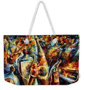Bottle Jazz Weekender Tote Bag