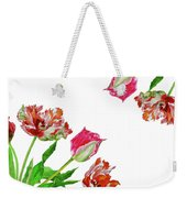 Bouquet Of Tulips Weekender Tote Bag