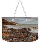 Bracelet Bay And Mumbles Lighthouse Weekender Tote Bag