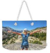 Break After Yosemite Hiking Weekender Tote Bag