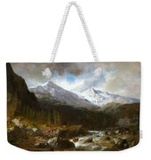 Bringing The Cattle Down From The Alm Weekender Tote Bag