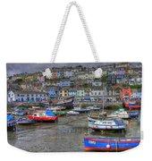 Brixham Harbour Weekender Tote Bag