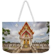 Buddhist Temple Weekender Tote Bag by Adrian Evans
