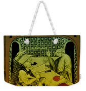 Butcher, Medieval Tradesman Weekender Tote Bag