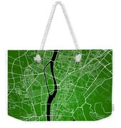 Cairo Street Map - Cairo Egypt Road Map Art On Colored Backgroun Weekender Tote Bag