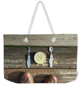 Canned Meal At A Camping Trip Weekender Tote Bag