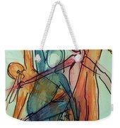 Captured Movements Weekender Tote Bag