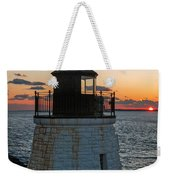Castle Hill Light Newport Rhode Island Weekender Tote Bag