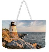 Castle Hill Lighthouse, Newport, Rhode Island Weekender Tote Bag