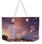Castle Point Lighthouse Weekender Tote Bag