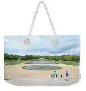 Chantilly Castle Garden In France Weekender Tote Bag