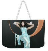 Charles Hall - Creative Arts Program - First Quarter Moon Weekender Tote Bag