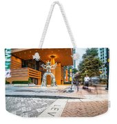 Charlotte North Carolina Street Scenes Early Morning Weekender Tote Bag
