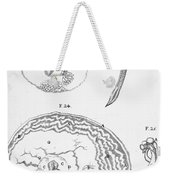 Chick Embryology, Malpighi, 1687 Weekender Tote Bag